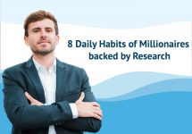 8 Daily Habits of Millionaires backed by Research